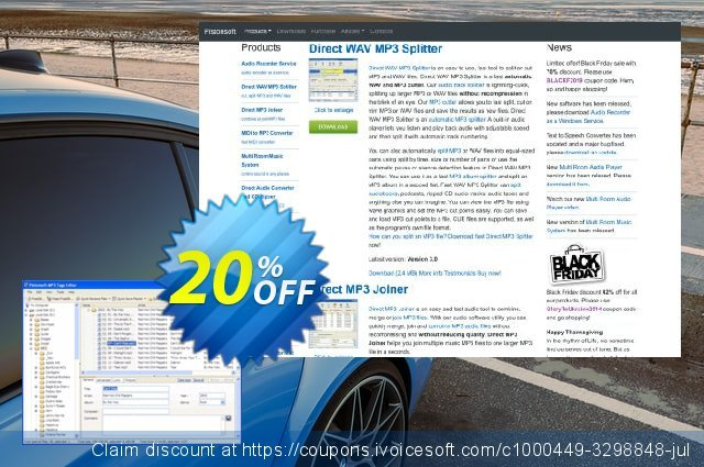 Pistonsoft MP3 Tags Editor (Business) discount 20% OFF, 2021 New Year's Weekend offering sales
