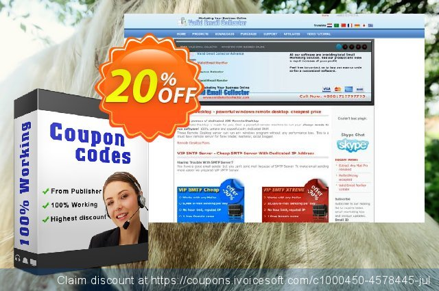 Total Email Marketing Pack discount 20% OFF, 2020 Thanksgiving offering discount