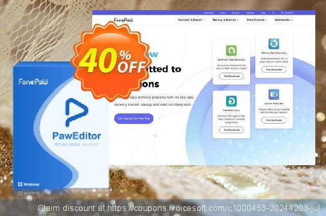 PawEditor (Windows) discount 40% OFF, 2020 Happy New Year offering sales