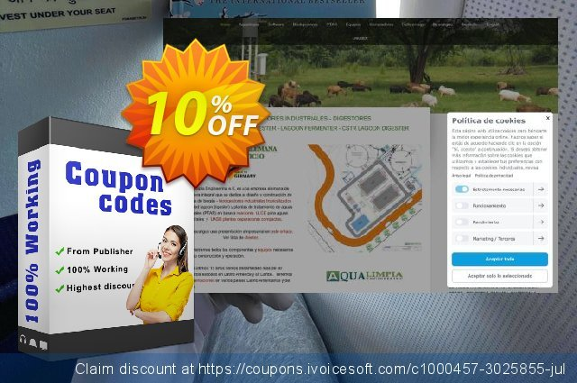 Software Biodigestor Pro discount 10% OFF, 2020 Thanksgiving Day offering sales