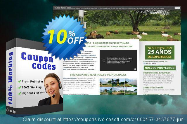 Manual para la puesta en marcha y operación de biodigestores - Version Windows 令人震惊的 产品销售 软件截图
