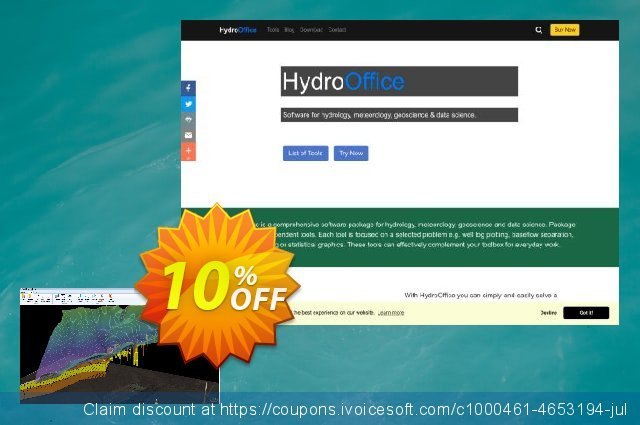 HydroOffice Well Plotter 3D discount 10% OFF, 2021 Spring offering sales