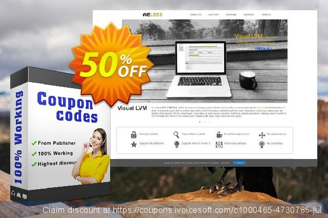 Visual LVM 1 Month License discount 30% OFF, 2020 Father's Day offering sales