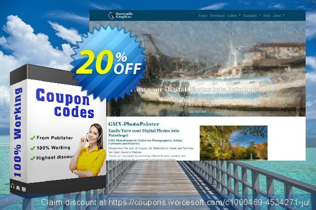 GMX-PhotoPainter for PC discount 20% OFF, 2020 College Student deals offer