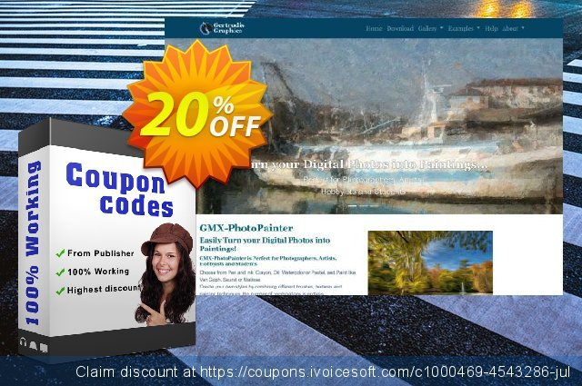 GMX-PhotoPainter for Windows discount 20% OFF, 2020 Back-to-School promotions offering sales