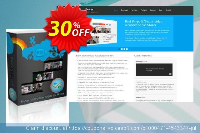 Evaer video recorder for Skype discount 30% OFF, 2020 Halloween offering sales