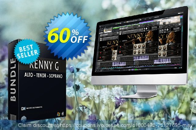 VST Kenny G Bundle discount 10% OFF, 2020 Christmas promotions