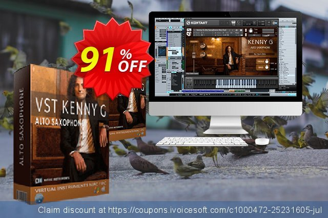 VST Kenny G Special Edition Discount 惊人的 产品折扣 软件截图