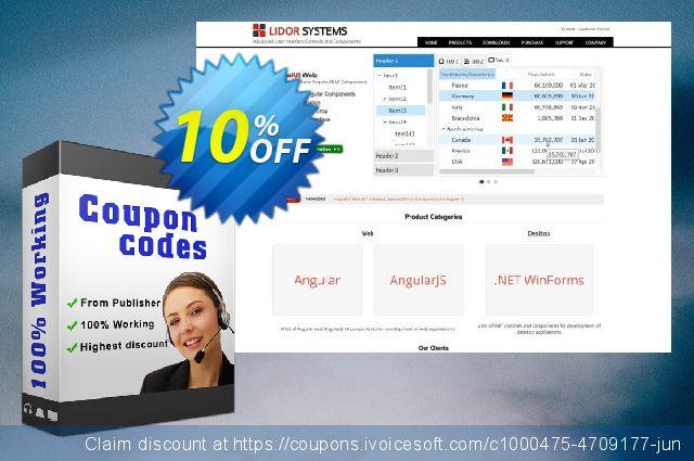 Lidor IntegralUI Web 了不起的 产品销售 软件截图