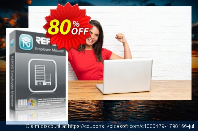 REFOG Employee Monitor - 12 Licenses discount 80% OFF, 2020 Thanksgiving offering sales