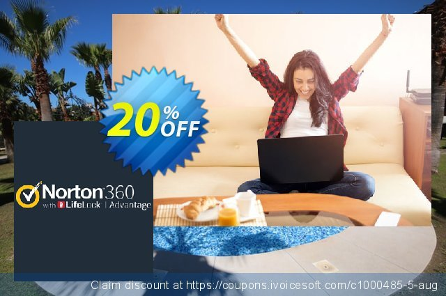 Norton 360 with LifeLock Advantage discount 20% OFF, 2020 Halloween offering sales