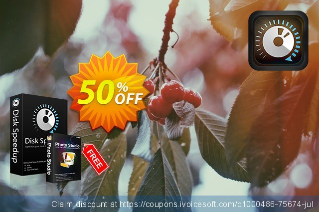 Disk Speedup discount 50% OFF, 2020 Halloween offering sales