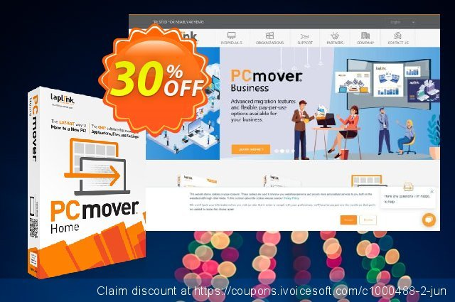Laplink PCmover HOME discount 30% OFF, 2021 Earth Hour offering sales