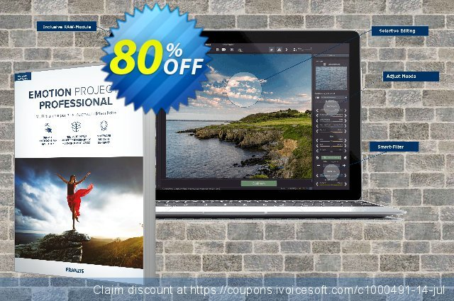 EMOTION projects discount 20% OFF, 2020 College Student deals discount
