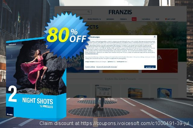 Franzis HDR Preset Collection #2 discount 20% OFF, 2020 Back to School event offering sales
