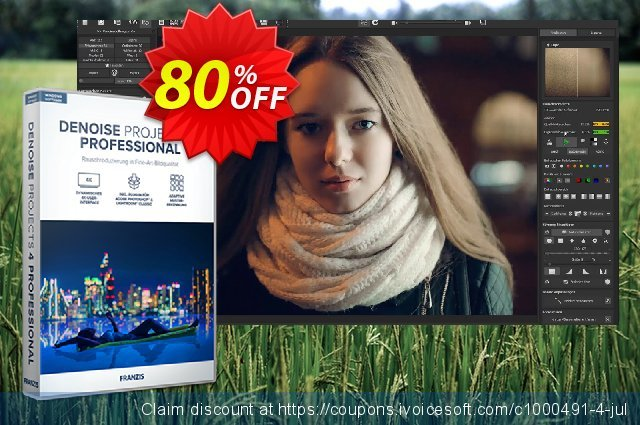 DENOISE projects 3 Pro discount 20% OFF, 2020 College Student deals offering sales