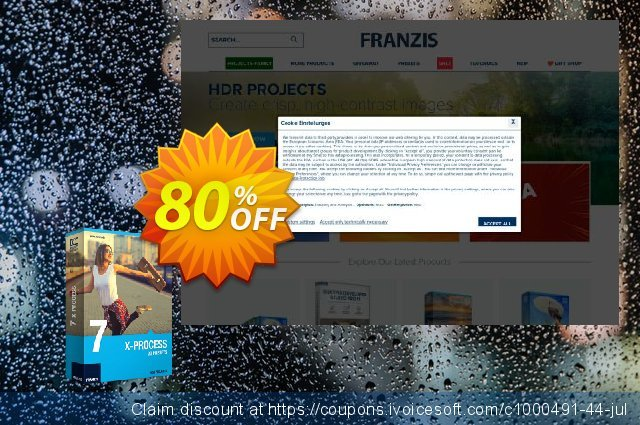 Franzis HDR Preset Collection #7 discount 20% OFF, 2020 Back to School coupons offering sales