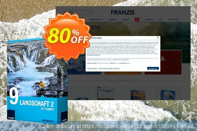 Franzis HDR Preset Collection #9 discount 20% OFF, 2020 Exclusive Student deals offering sales