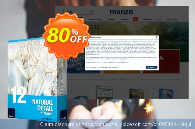 Franzis HDR Preset Collection #12 discount 20% OFF, 2020 Halloween offer