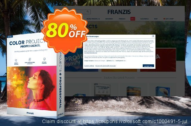 COLOR projects 6 Pro discount 20% OFF, 2020 College Student deals offering sales