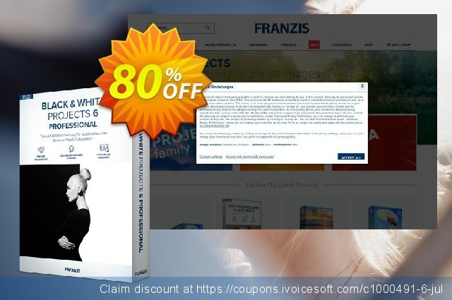 BLACK&WHITE projects 6 discount 20% OFF, 2020 Back to School Promos offering sales