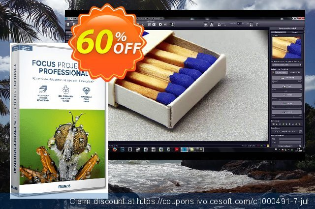FOCUS projects 4 Pro discount 20% OFF, 2020 Back to School promotion discounts