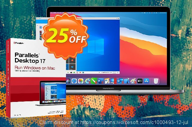 Parallels Desktop for Mac 1-Time Purchase discount 20% OFF, 2021 Magic Day offering sales. 20% OFF Parallels Desktop for Mac 1-Time Purchase, verified