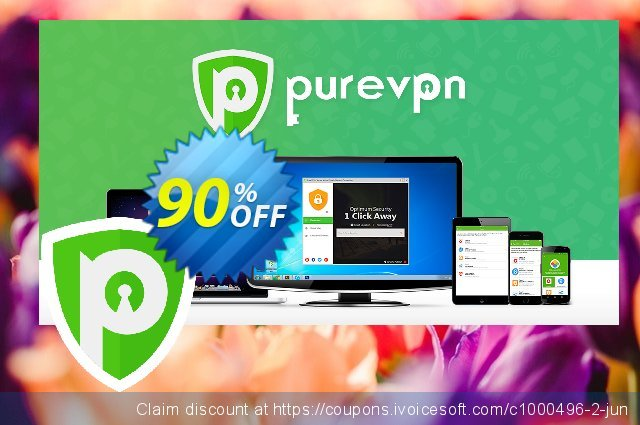 PureVPN 5-Year Plan discount 90% OFF, 2021 New Year's Day discounts