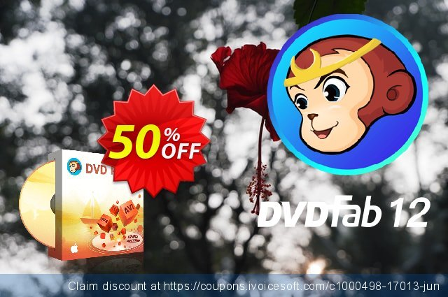 DVDFab DVD Ripper for Mac (1 year License) discount 50% OFF, 2021 Easter day discounts