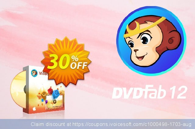 DVDFab Video Converter for MAC Standard discount 30% OFF, 2021 Nude Day offering sales. 30% OFF DVDFab Video Converter for MAC Standard, verified