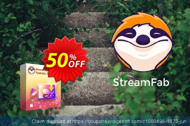 StreamFab Video Downloader for MAC discount 50% OFF, 2021 Emoji Day discounts. 50% OFF DVDFab Video Downloader for MAC, verified