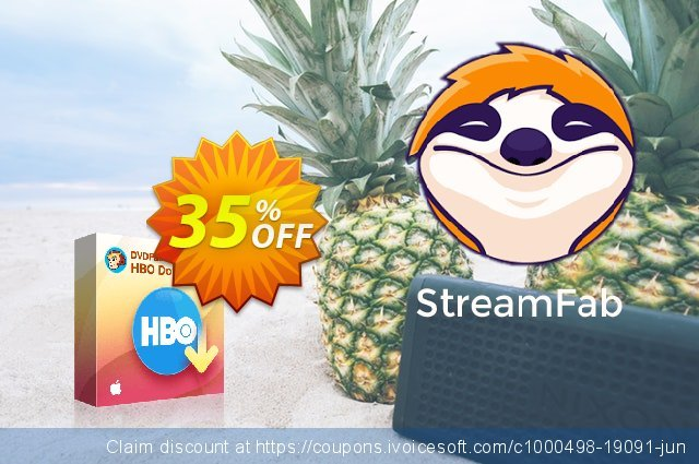 DVDFab HBO Downloader For MAC (1 month) discount 30% OFF, 2021 Mother's Day offering deals. 30% OFF DVDFab HBO Downloader For MAC (1 month), verified