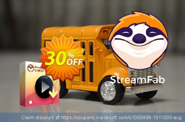 StreamFab U-NEXT Downloader for MAC (1 Month License) discount 30% OFF, 2021 Immigrants Day offering discount. 30% OFF StreamFab U-NEXT Downloader for MAC (1 Month License), verified