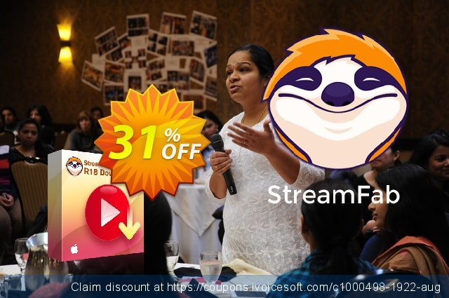 StreamFab R18 Downloader for MAC discount 31% OFF, 2021 All Saints' Eve offering deals. 31% OFF StreamFab R18 Downloader for MAC, verified