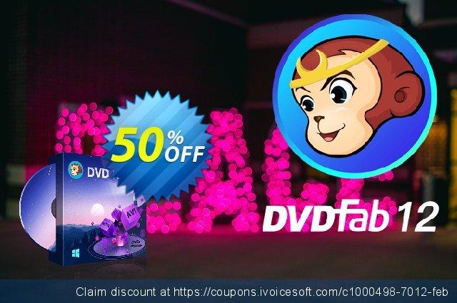 DVDFab DVD Ripper (1 month License) 惊人的 产品销售 软件截图