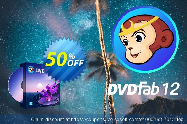 DVDFab DVD Ripper (1 year License) 令人印象深刻的 优惠码 软件截图