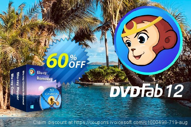 DVDFab Blu-ray Copy + Blu-ray Ripper (Cinavia included) discount 60% OFF, 2021 Plastic Bag Free Day offering sales. 50% OFF DVDFab Blu-ray Copy + Blu-ray Ripper (Cinavia included), verified