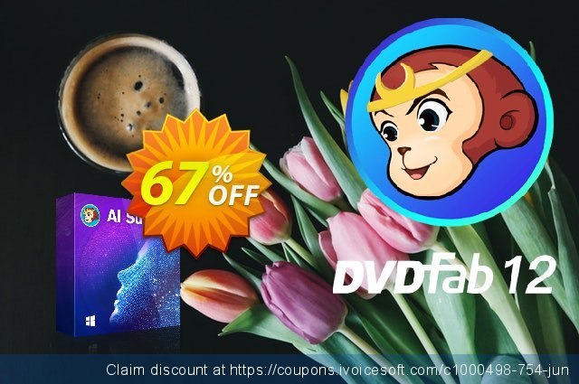 DVDFab AI Suite discount 60% OFF, 2021 Resurrection Sunday offering sales