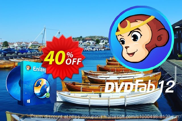 DVDFab Enlarger AI Lifetime toll Promotionsangebot Bildschirmfoto