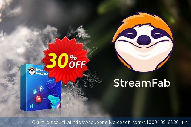 StreamFab YouTube to MP3 Lifetime discount 30% OFF, 2021 All Hallows' evening offering discount. 30% OFF StreamFab YouTube to MP3 Lifetime, verified