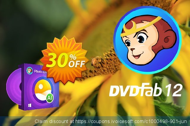 DVDFab Photo Enhancer AI discount 30% OFF, 2021 Easter day sales