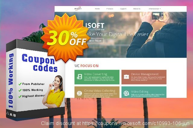 Xilisoft Transfert iPhone discount 30% OFF, 2020 Happy New Year offering sales