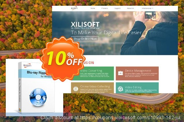 Xilisoft Blu-Ray Ripper discount 10% OFF, 2020 New Year's Weekend promo sales