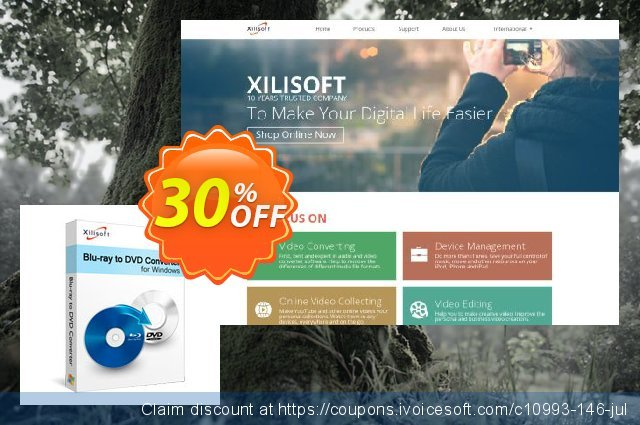 Xilisoft Blu-ray to DVD Converter discount 30% OFF, 2021 Happy New Year offering sales