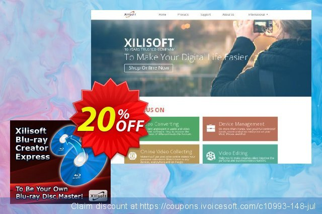 Xilisoft Blu-ray Creator 2 discount 20% OFF, 2019 Halloween discount