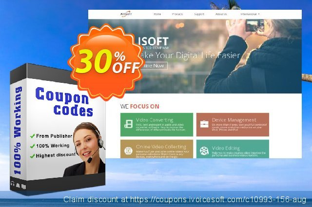 Xilisoft iPhone Magic discount 30% OFF, 2019 Xmas offering sales
