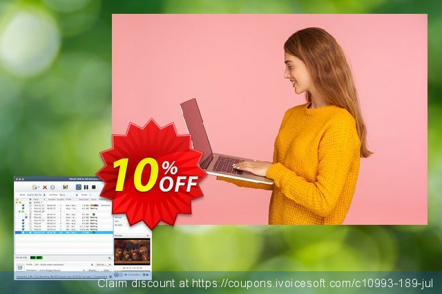 Xilisoft DVD to AVI Converter for Mac  대단하   제공  스크린 샷