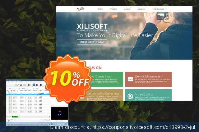 Xilisoft DVD to Audio Converter discount 10% OFF, 2020 4th of July discount