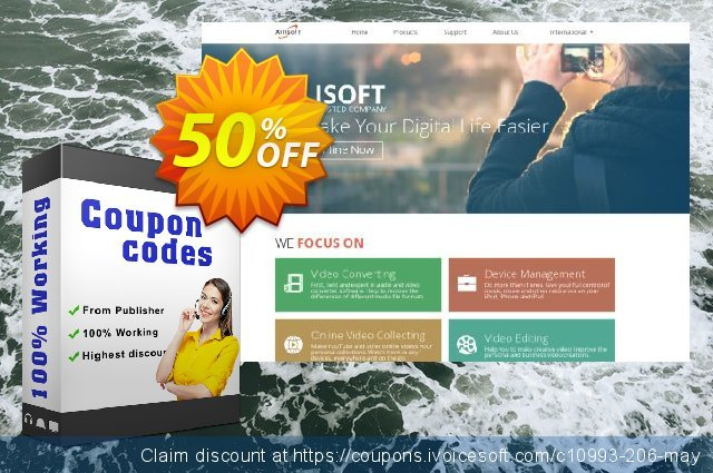 Get 50% OFF Xilisoft Online Video Converter discounts