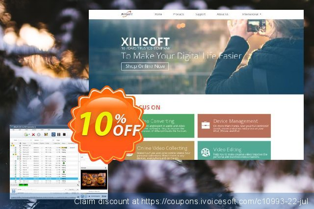 Xilisoft DVD to PSP Converter 6 discount 10% OFF, 2021 Spring sales